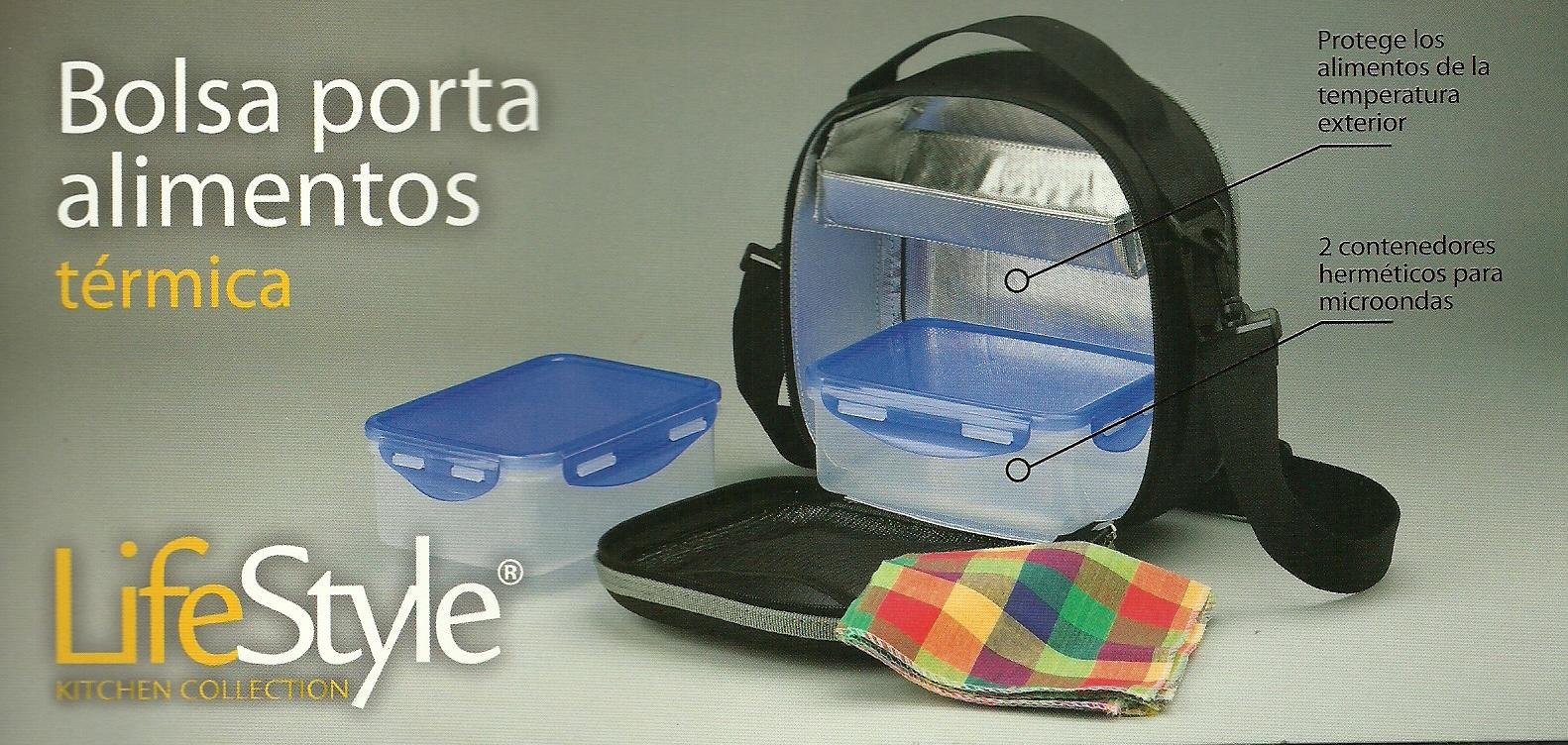 Bolsa porta alimentos t rmica ferreter a juli - Bolsa porta alimentos ...