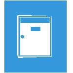 Grabado placas buzón y puerta