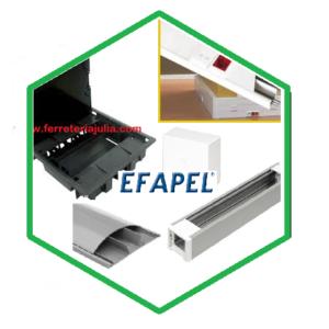 EFAPEL canales y cajas suelo