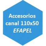 accesorio canal 110x50 Efapel