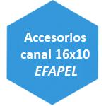 accesorio canal 16x10 Efapel